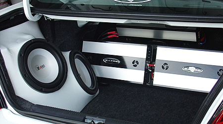 Custom Stereo Installation