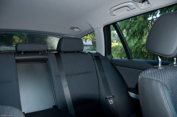 inside car with tinted windows black seats