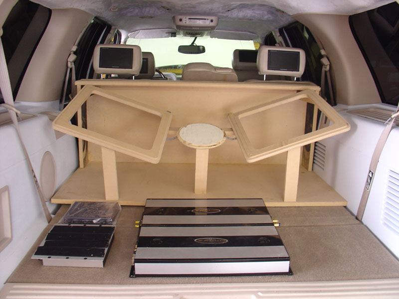 Kicker Box Frame