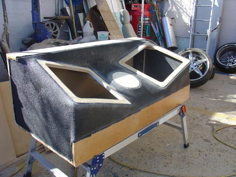 Kicker Fiberglass Box Frame
