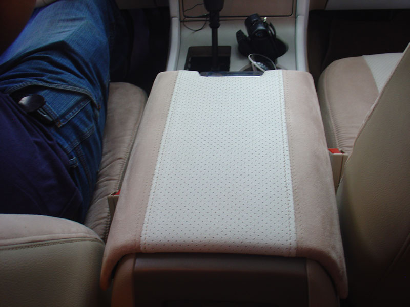 Custom armrest