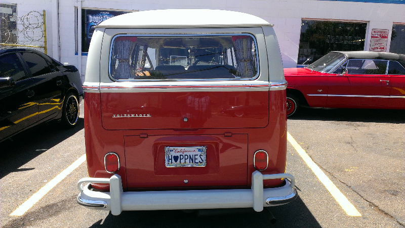 VW Bus Rear View