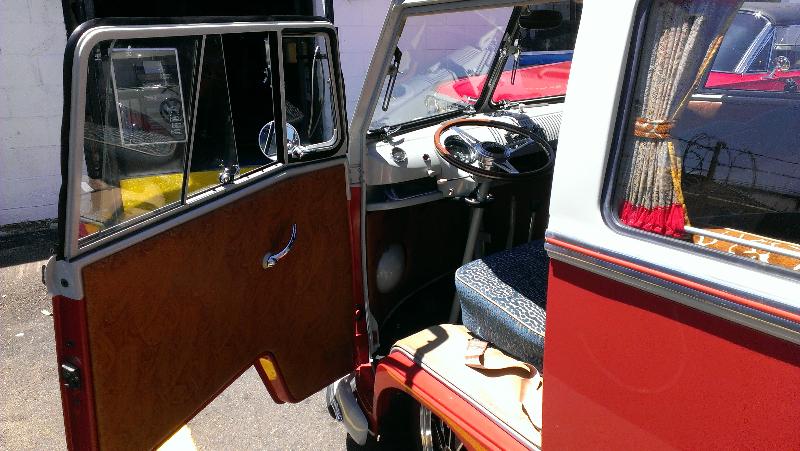VW Bus Driver's Seat