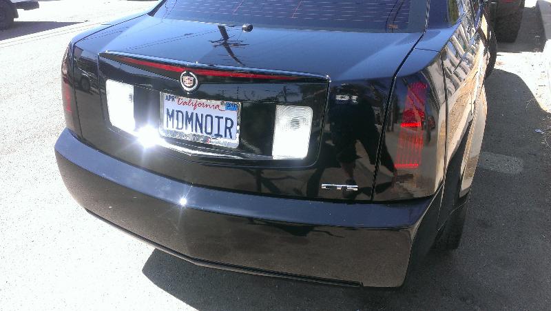 Cadillac CTS Custom Taillights