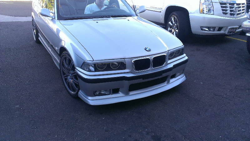 BMW HID Lights off