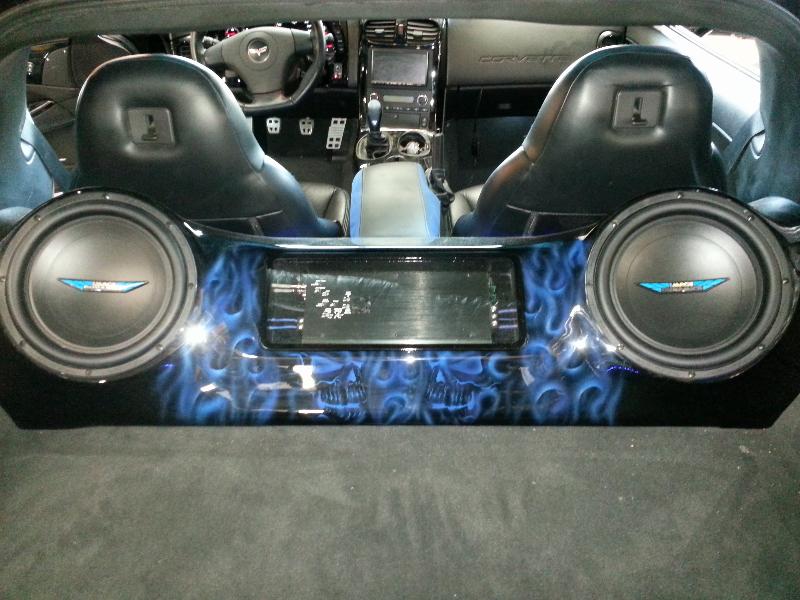 Custom Box For Corvette Joe S Stereo