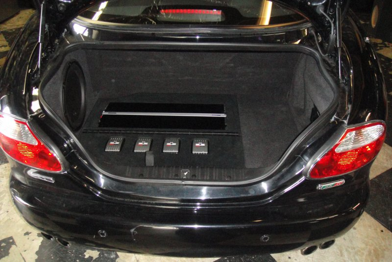 Jaguar XKR JL Audio Custom System