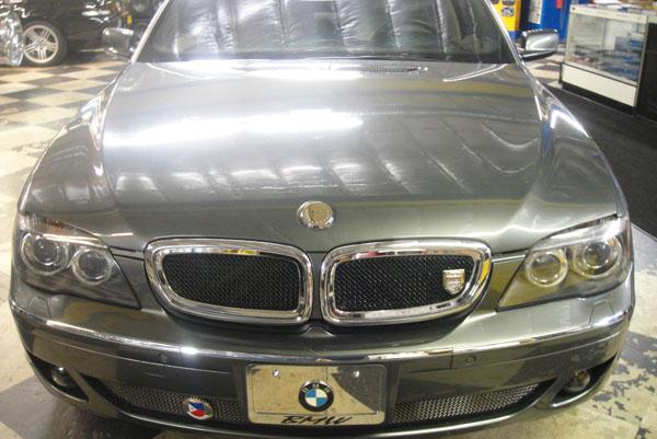 Grey BMW 7-Series