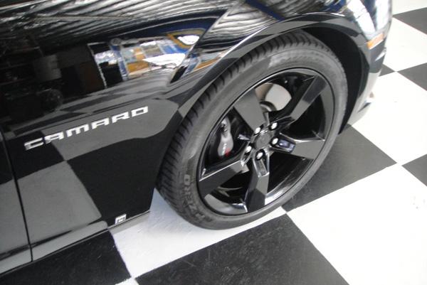 Black Chevy Camaro Black Wheels