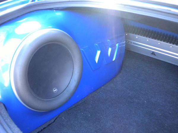 JL Audio W7 Custom Box