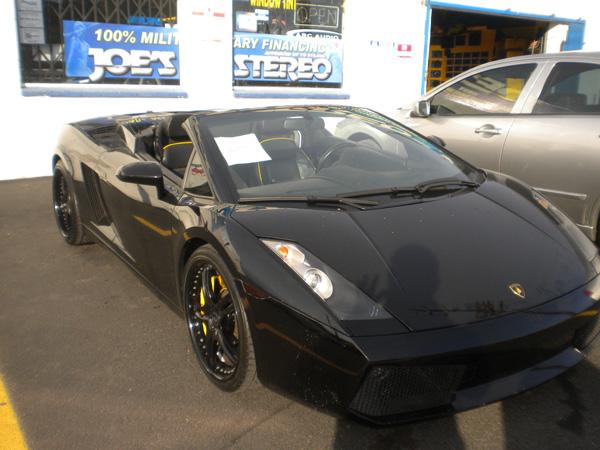 Lamborghini Gallardo Joe's Stereo
