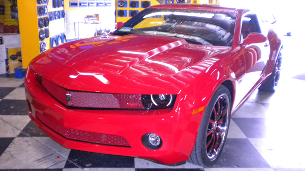 Custom Red Grille