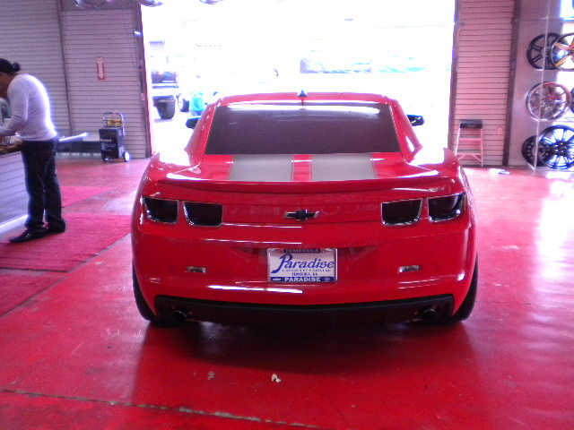 Chevy Camaro Rear View