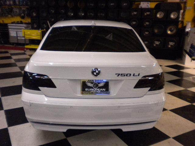 White 7-Series Rear