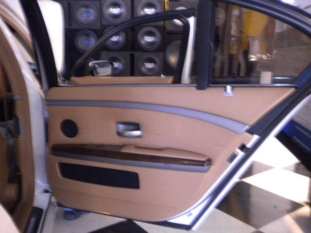 BMW 7-Series Custom Interior Door