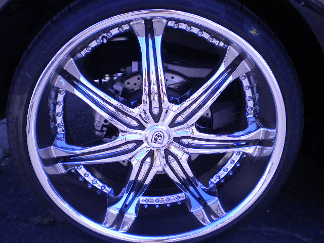 Chrome Asanti Wheels