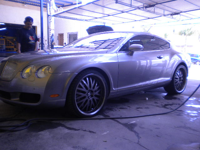 Bentley Continental Wheels