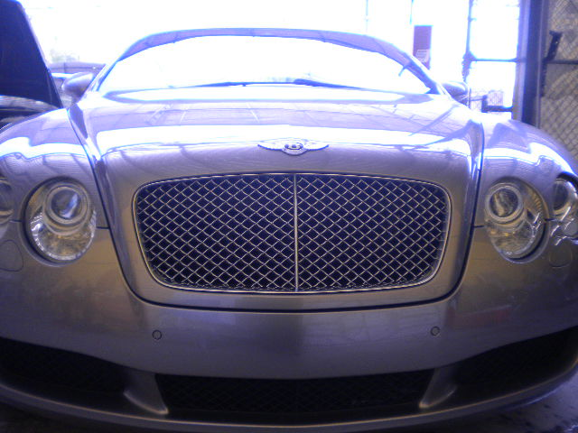 Bentley Continental Grille