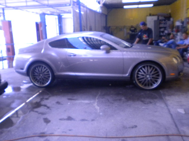 Bentley Continental Window Tinting