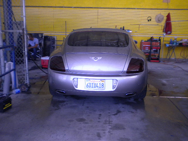 Bentley Continental Custom Taillights