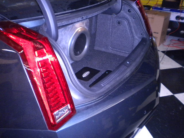 JL Audio W7 System Left View