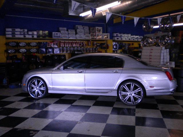 Bentley Flying Spur Custom Wheels