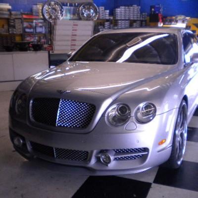 Bentley Flying Front