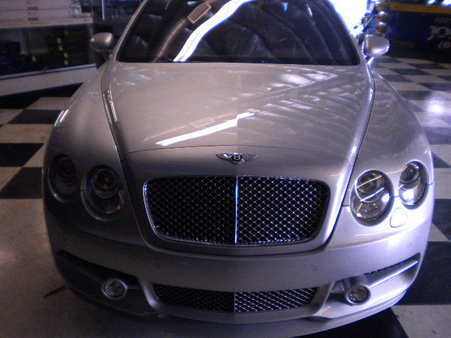 Bentley Flying Grille