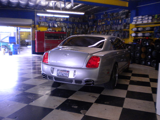 Bentley Flying Spur Rear