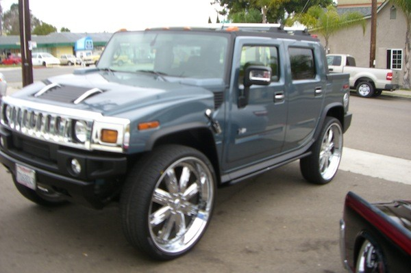 Hummer H2 Big Wheels