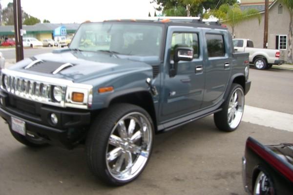 Hummer H2 Big Wheels