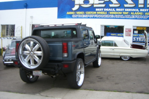 Hummer H2 Rear View