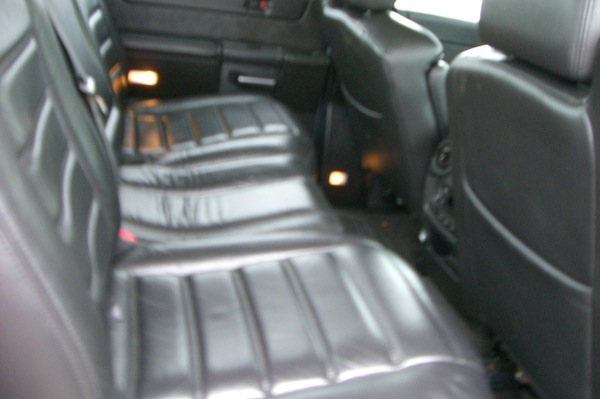 Hummer Rear Bench Seat