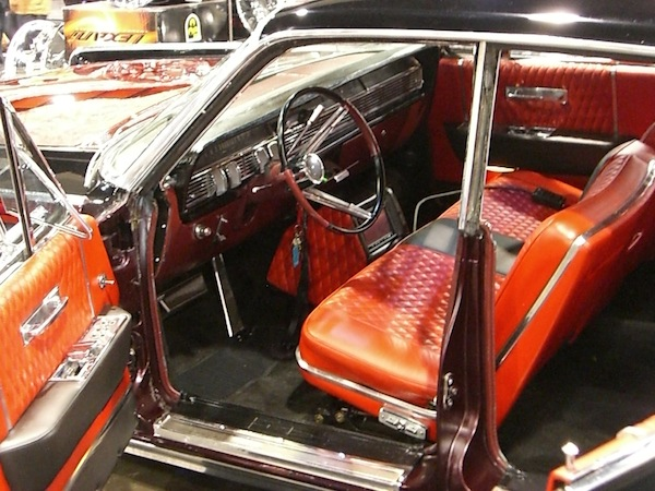 Lincoln Continental Custom Interior