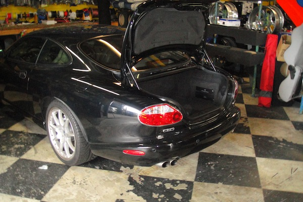 Jaguar XKR Rear View
