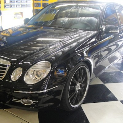 S-Class with Black Wheels