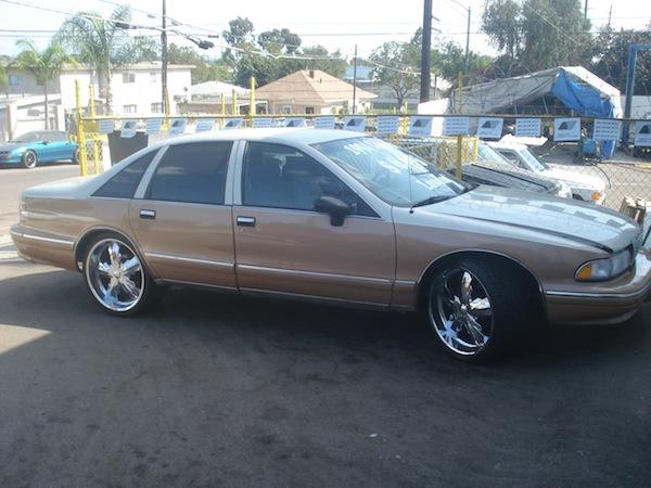 Tan Chevy Impala