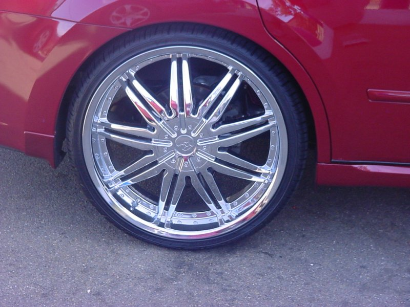 Chrome F5 wheels