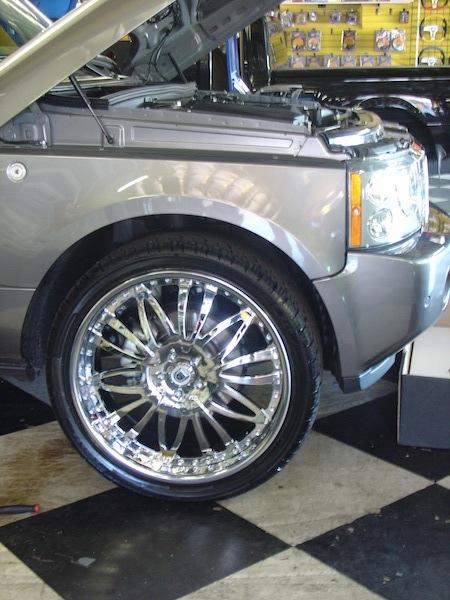 Range Rover Chrome Wheels