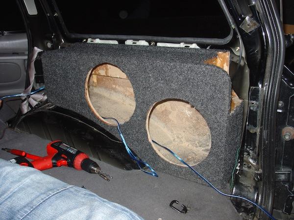 Building a custom sub box