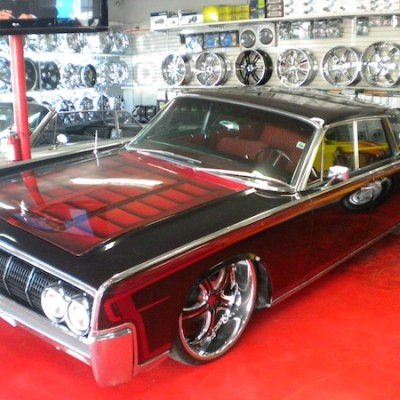 Lincoln Continental Custom Paint