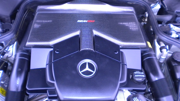 MB CLS Engine Cover