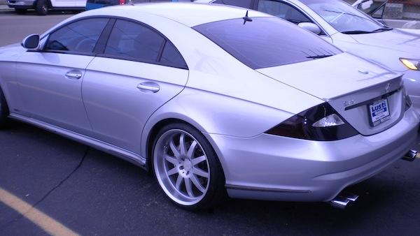 MB CLS Asanti Wheels