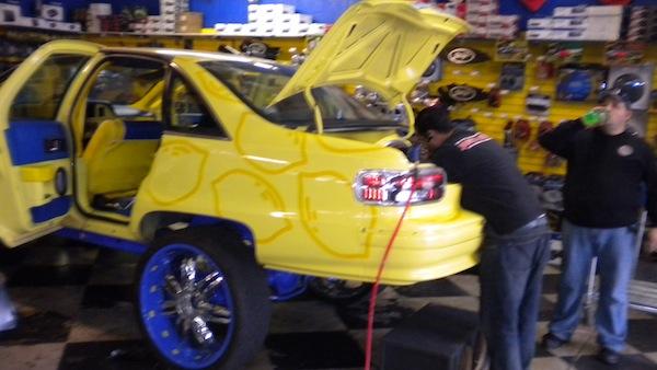 Impala with Custom Wheels