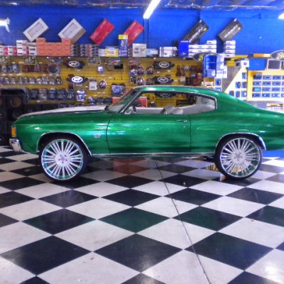 Chevy Chevelle Green
