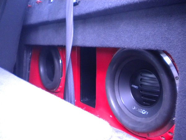 Orion Subs in Ported Box