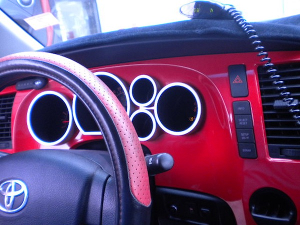 Custom Red Dashboard