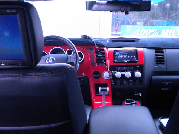 Custom Tundra Interior