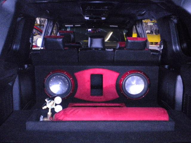 Pink Nissan Armada W Custom Interior Amp System Joe S Stereo