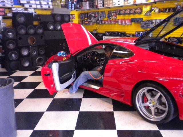 Ferrari F430 Side View